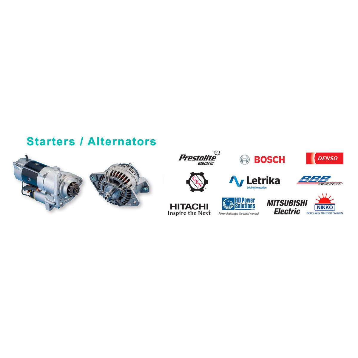 Starters- Alernators Diesel Parts Slide