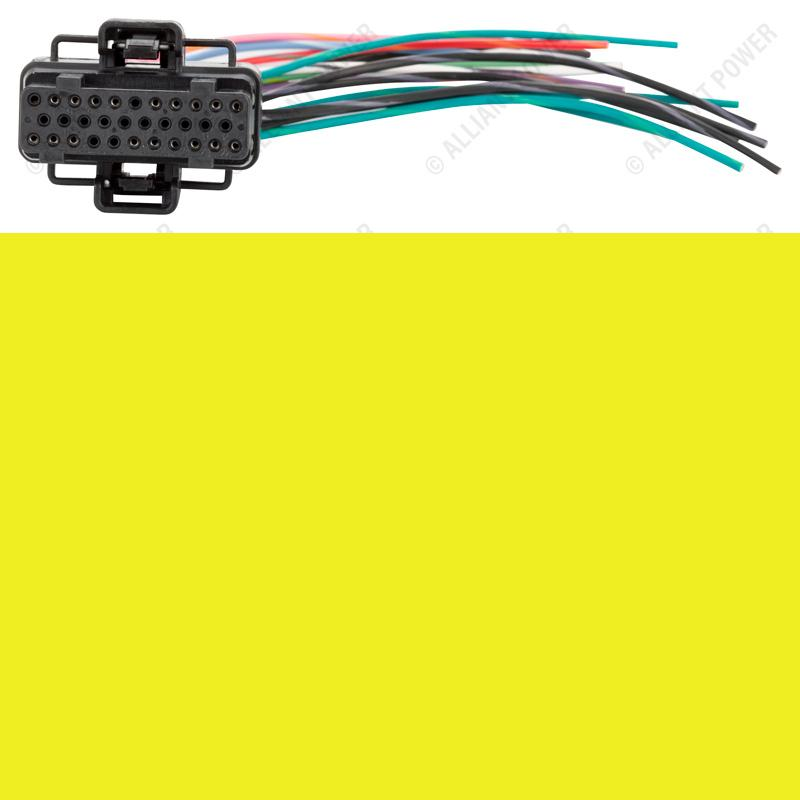 AP0031 - Fuel Injection Control Module Connector Pigtail