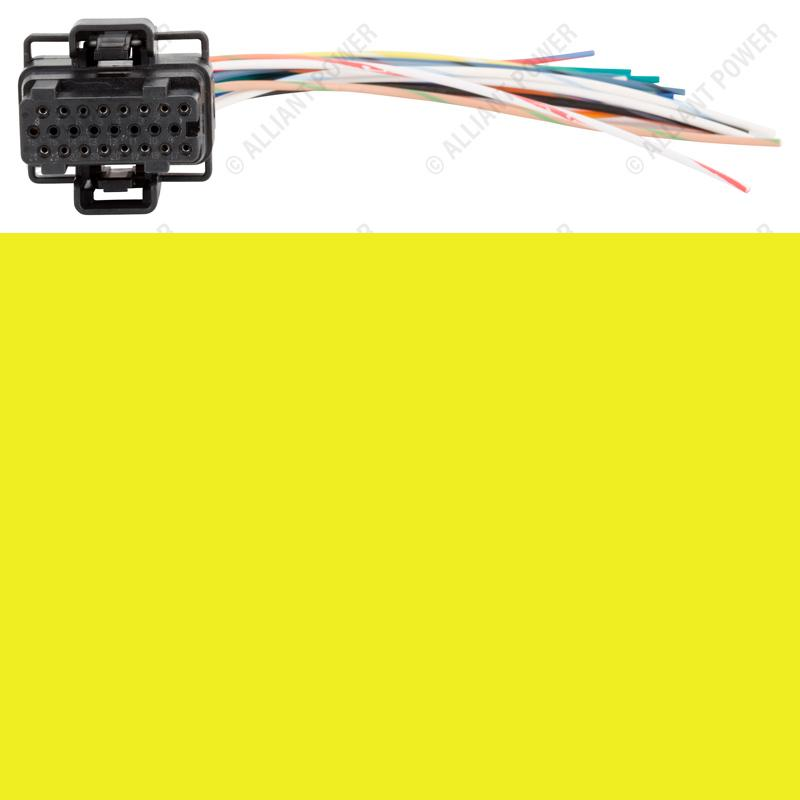 AP0032 - Fuel Injection Control Module Connector Pigtail